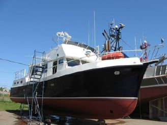 1985 Custom Leger 50 Trawler
