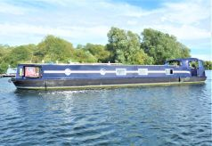 2014 Wide Beam Narrowboat Lambon 62' Unique Design