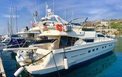 1999 Ferretti Yachts 62 Anniversary