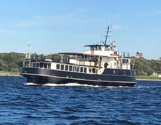 Wiley Car Passenger Ferry Conversion to Excursion Dinner Vessel