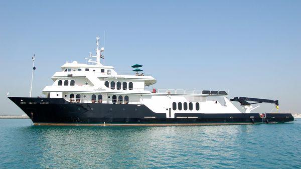 Shadow Custom Expedition Yacht Profile