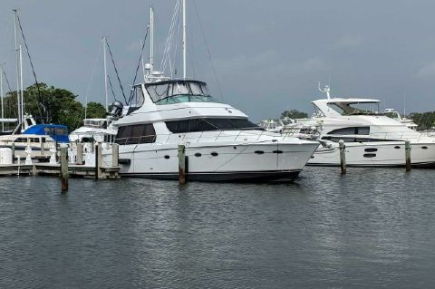 2001 Carver 530 Voyager Pilothouse