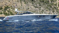 2010 Pershing Linea Rossa Sparrow 58
