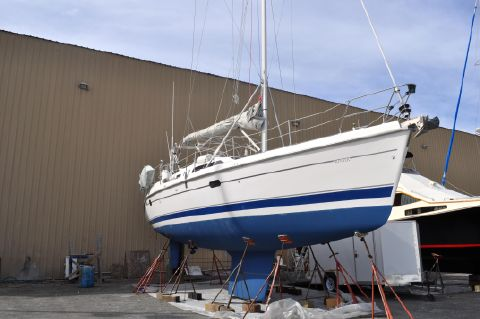 2001 Hunter Passage 450