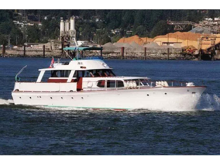 1941 classic motor yacht, live-aboard
