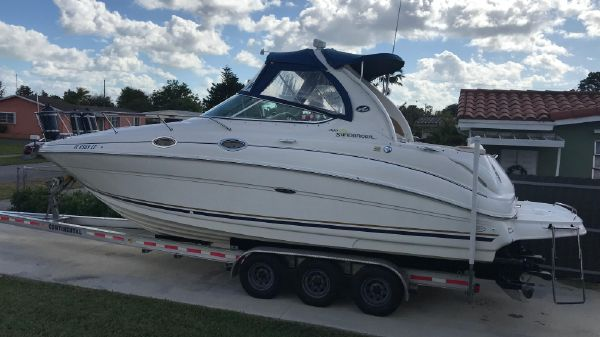 Sea Ray Sundancer Re-Powered 2015