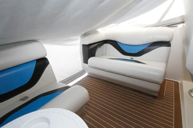 Newly Upholstered Flybridge