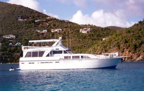 1977 Custom Extended Bertram 71 Edwards Yacht Sales One of a Kind!