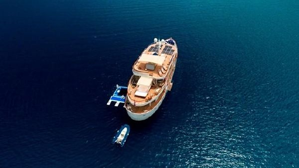 Aegean Yachts 112' Full Displacement Motor Yacht