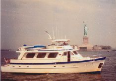 1983 Cheoy Lee Cockpit Trawler