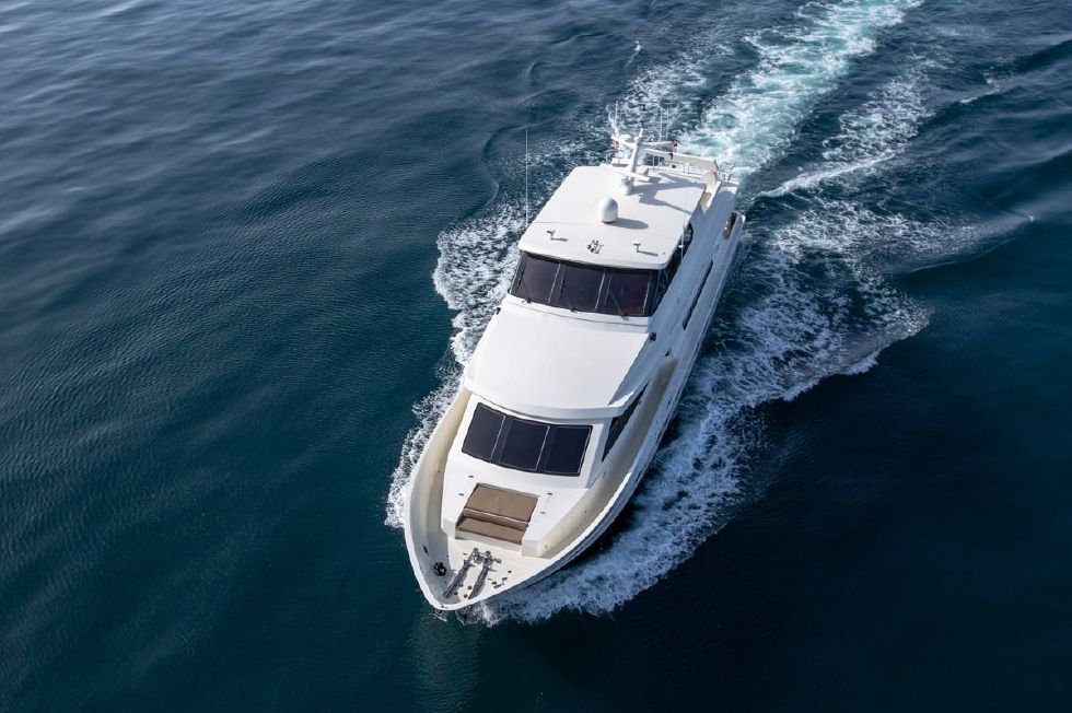 2001 Hargrave Enclosed Bridge Motor Yacht