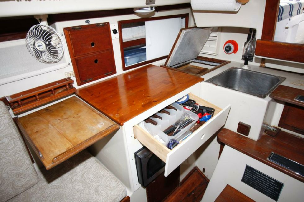 Galley with Drawer