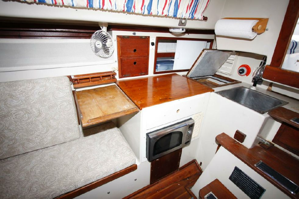 Galley w/Refrigeration