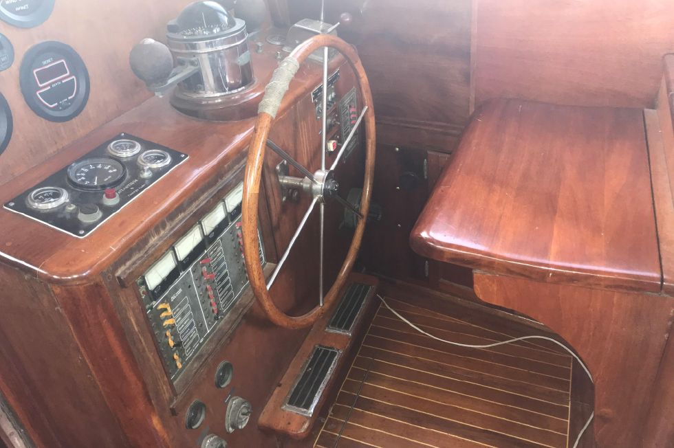 1982 Custom Treworgy Pilothouse Cutter