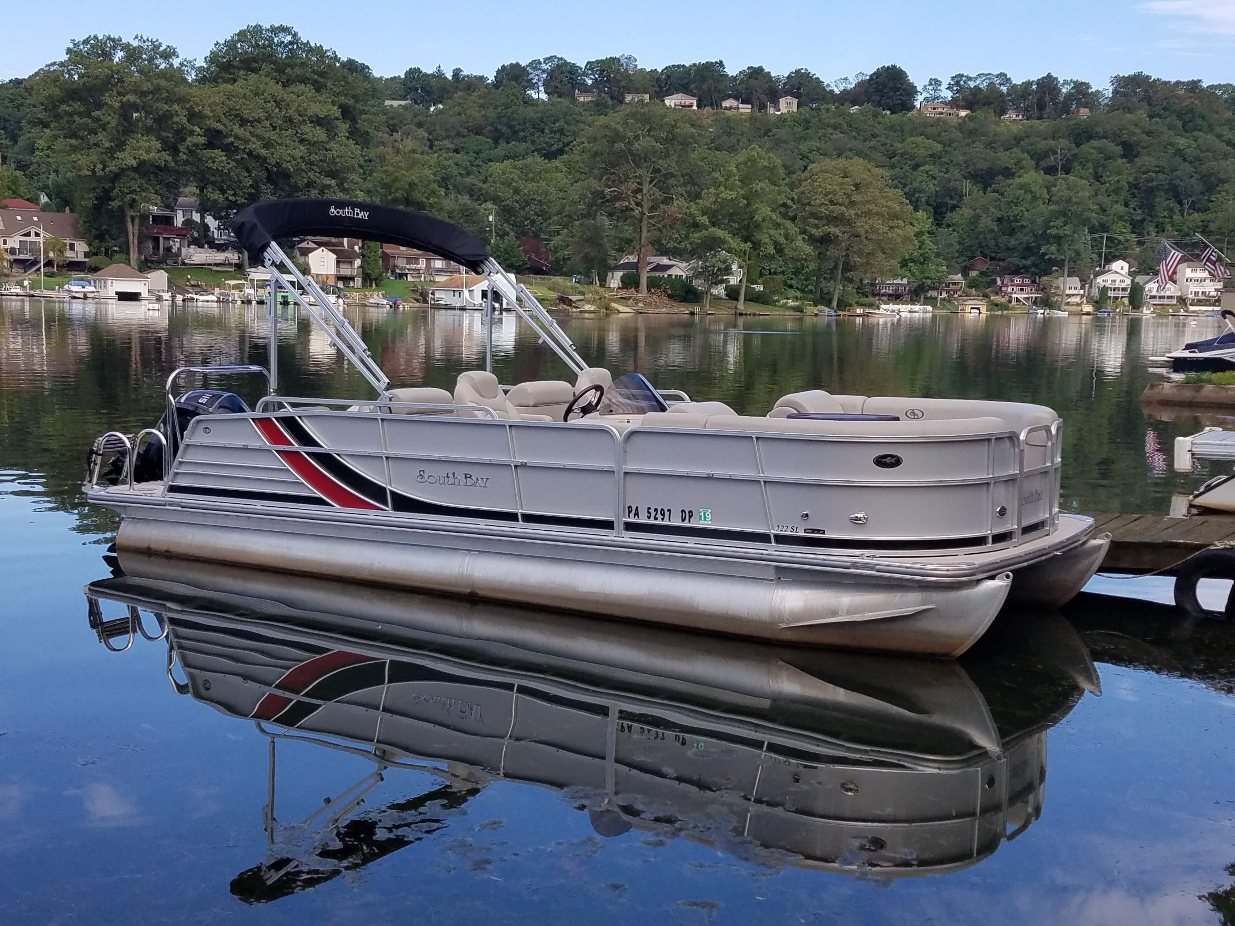 2015 South Bay 522 SL Pontoon Boat for sale - YachtWorld