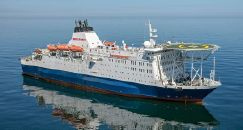 Cruise Ship Accommodation Vessel - 210/350 Guests/Passengers