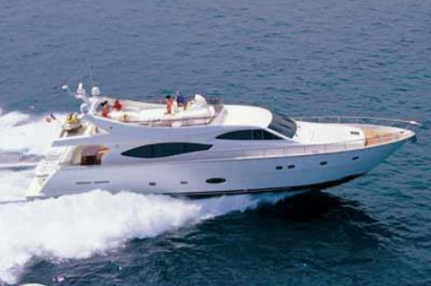 2005 Ferretti Yachts 760 - Manufacturer Provided Image: 760
