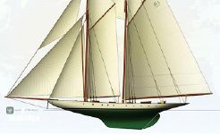 2012 Herreshoff Two Masted Topsail Gaff Schooner Project Completion