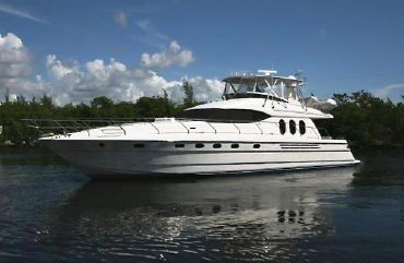 2002 Viking Princess 68 Sport Cruiser