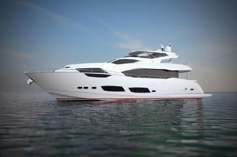 2018 Sunseeker 95 Yacht - Manufacturer Provided Image