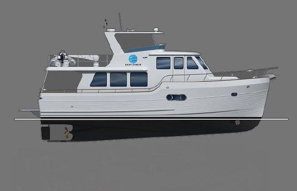 2018 Explorer Motor Yachts 46 Pilot House