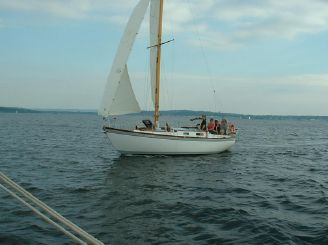 1963 Custom 28' wooden sloop