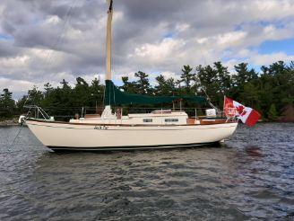 1963 Custom 28' wooden sloop