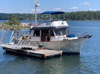1988 Marine Trader 34