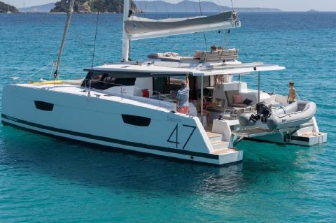 2019 Fountaine Pajot Saona 47 - Manufacturer Provided Image: Fountaine Pajot Saona 47