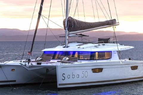 2019 Fountaine Pajot SABA 50 - Manufacturer Provided Image: Fountaine Pajot SABA 50