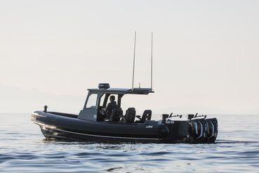 2021 32' Loki Rb-10 RIB RHIB Tender Adventure Boat