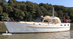 1971 Custom J Francis Jones Motor Yacht