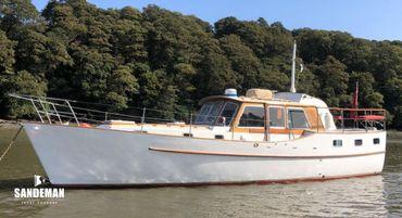 1971 Custom J Francis Jones Motor Yacht