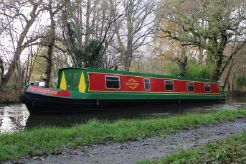 2014 Narrowboat 57' Reeves Cruiser Stern