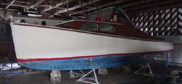 1970 Lunenburg Yard Lobster Boat