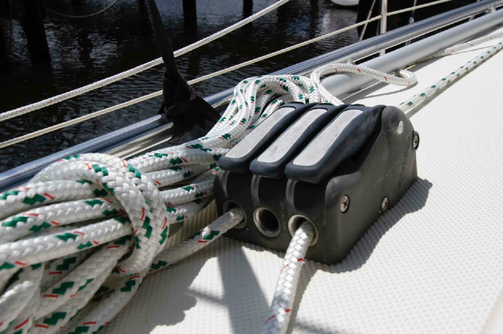 Pacific Seacraft Dana 24 Line Stoppers/Clutches