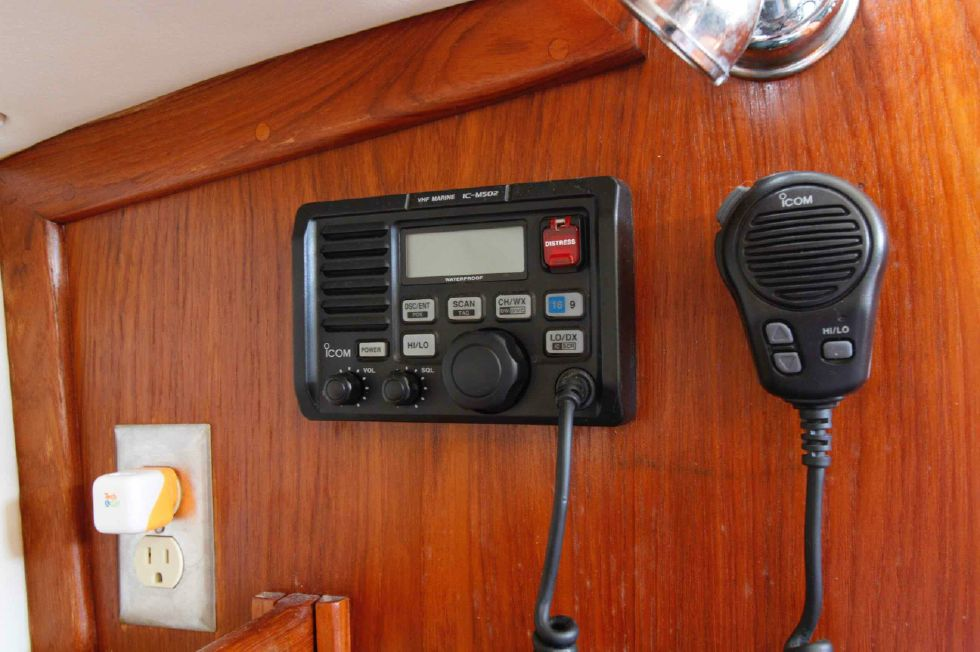 Pacific Seacraft Dana 24 VHF