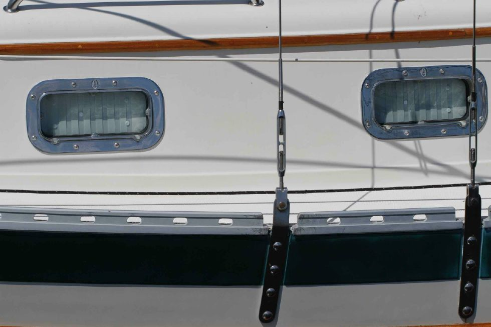 Pacific Seacraft Dana 24 Stainless Ports