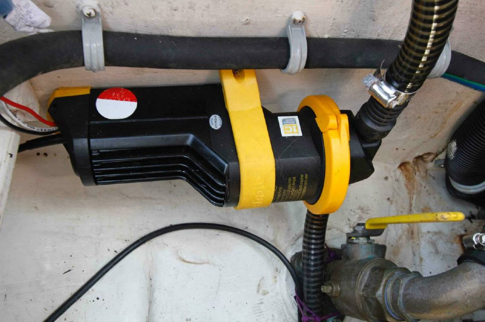 Pacific Seacraft Dana 24 Bilge Pump