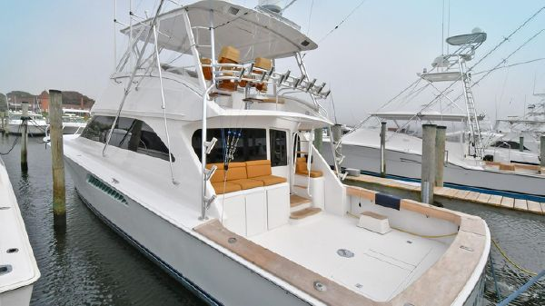 Viking Yachts 52 Convertible Port Side