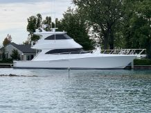 2012 Viking 60 Enclosed Bridge