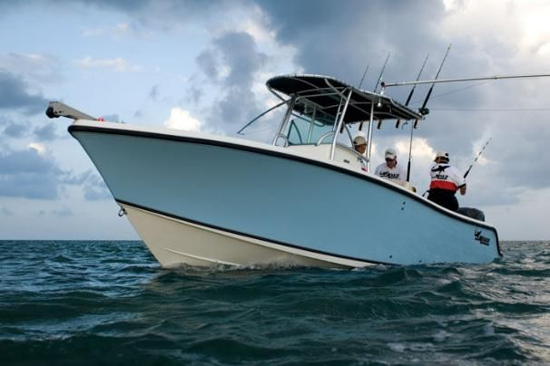 Manufacturer Provided Image: The 264 CC sports the classic lines and rugged construction that MAKO boats are famous for
