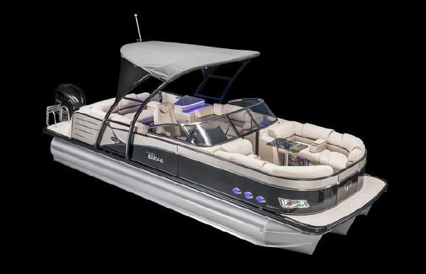 2018 Tahoe Pontoon Cascade Platinum Quad Lounge Windshield - 25'