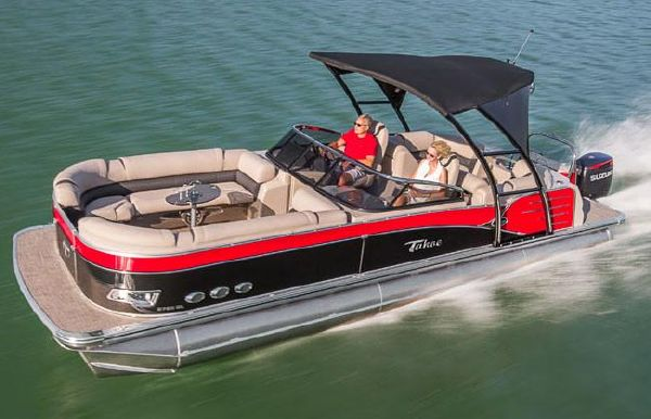 2018 Tahoe Pontoon Cascade Platinum Elite Windshield - 27'
