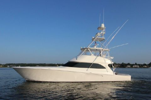 2010 Viking 60 Convertible - Profile