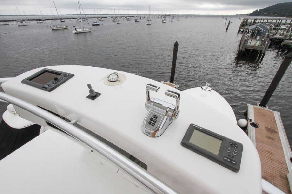 2010 Viking 60 Convertible - Helm / Electronics & Navigation 11 - Tower Control Box