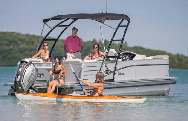 2018 Tahoe Pontoon Cascade Quad Lounge - 25'