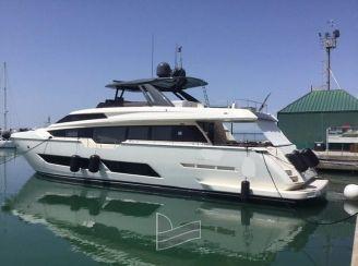2018 Ferretti Yachts 850 HT