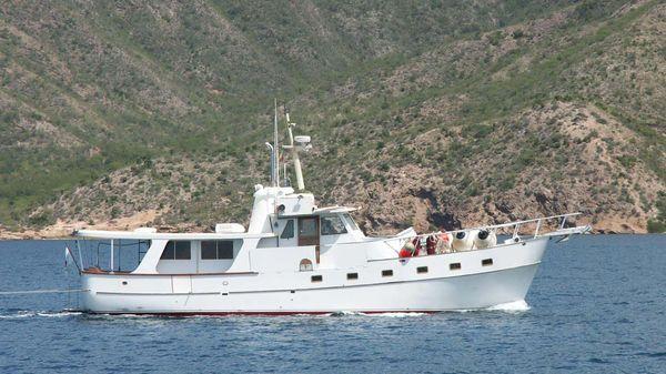 Roughwater Custom Long Range Trawler Swan Song