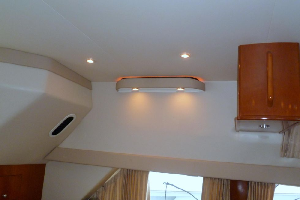 Carver 42 SS Salon Lighting Port Side